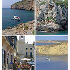 Menorca Collage 02 - Labelled by Rod Johnson