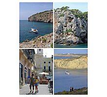 Menorca Collage 02 - Labelled Photographic Print