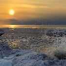 Lake Ontario Sunset by Joseph T. Meirose IV