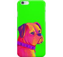 Boxer (Green) iPhone Case/Skin