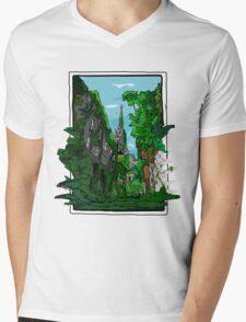 Jungle of Vienna Mens V-Neck T-Shirt