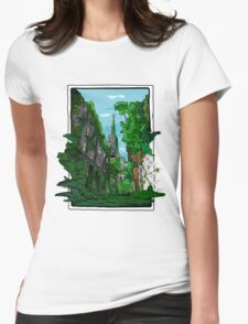 Jungle of Vienna Womens Fitted T-Shirt