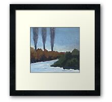 Winter Coming Framed Print