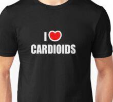 I Love Cardioids Unisex T-Shirt