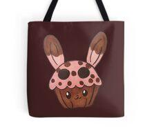 strawberry bunny cupcake Tote Bag