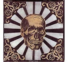 Skull w/Starburst Photographic Print