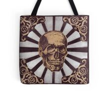 Skull w/Starburst Tote Bag
