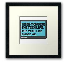 Tech life - 2 Framed Print