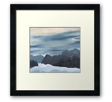 Ice Morning Framed Print