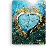 """Heart Stone"" by Justin Lawson Canvas Print"