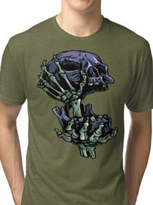Skull in half T-Shirt Tri-blend T-Shirt