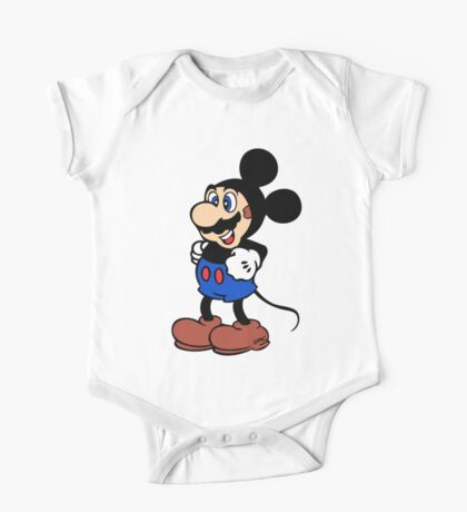 Super Mickey Brother One Piece - Short Sleeve
