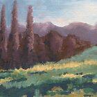 Purple Trees by sivieriart