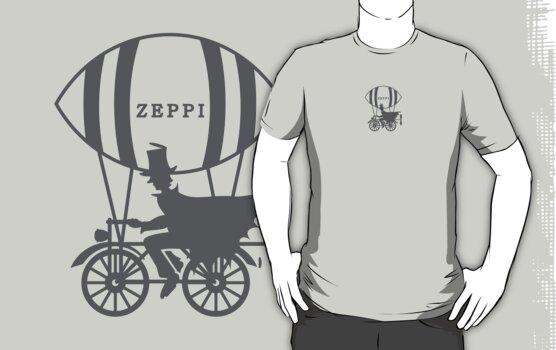 Zeppi - the Air Biker by vivendulies