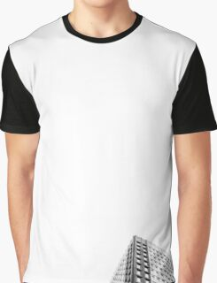 black and white building  Graphic T-Shirt