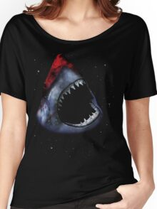 12th Doctor Who Star/Space Shark T-Shirt Ver. 1 Women's Relaxed Fit T-Shirt