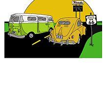V-DUB Road Trip by Jared George- Art