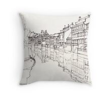 La Petite France, Strasbourg, France Throw Pillow