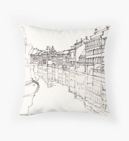 La Petite France, Strasbourg, France Throw Pillow
