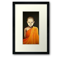 Enlightened Child Framed Print