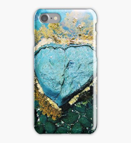 """Heart Stone"" by Justin Lawson iPhone Case/Skin"