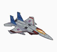 Starscream sticker (and a Deceptijets pillow) by NDVs
