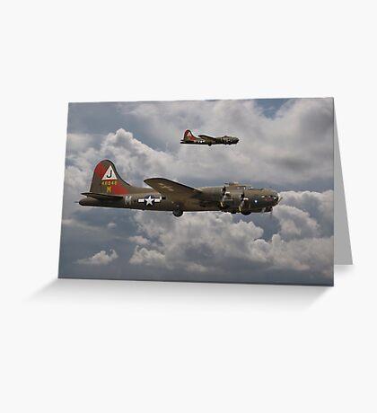 B17- 511 Sqdn Homeward Greeting Card