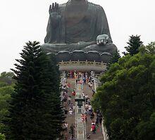 Tian Tan Buddah - Big Climb by Camilla