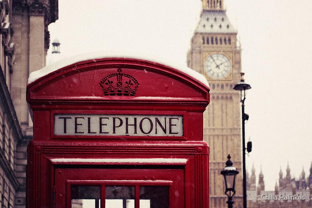 A very London telephone box by Chilla Palinkas
