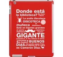 Spanish Rap  iPad Case/Skin