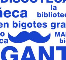 Spanish Rap Sticker Sticker