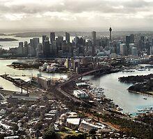 sydney aerial by mugley