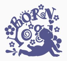 Born Yogi (blue) by vivendulies