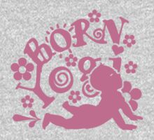 Born Yogi (pink) VRS2 Kids Clothes