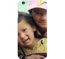 Friends at play, Ladakh iPhone Case/Skin