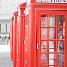 London telephone booth by kristinidk
