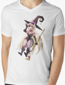 Moon Witch Mens V-Neck T-Shirt