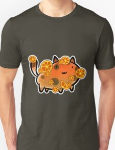 Orange Fruit Cat T-Shirt