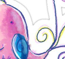 Cute Pastel Bird Sticker