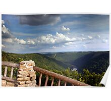 The View From Coopers Rock Poster