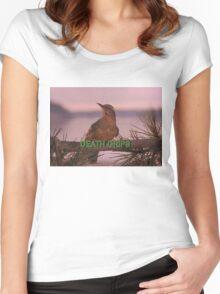 Death Grips Twin Peaks Women's Fitted Scoop T-Shirt