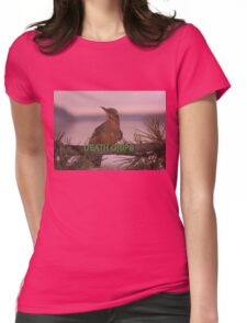 Death Grips Twin Peaks Womens Fitted T-Shirt