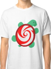 Peppermint Turtle Classic T-Shirt