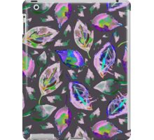 Pink autumn leaves iPad Case/Skin