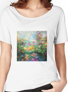 Roses paint  Women's Relaxed Fit T-Shirt