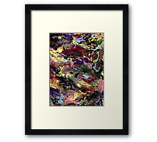 COLOR GALAXY Framed Print