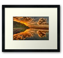 The Blessing - Narrabeen Lakes, Sydney Australia - The HDR Experience Framed Print