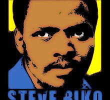 STEVE BIKO-COLOURS by OTIS PORRITT