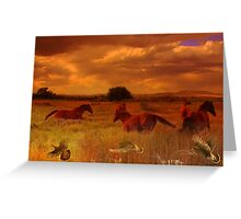 Go confidently in the direction of your dreams~ Greeting Card