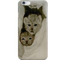 leopard cubs iPhone Case/Skin